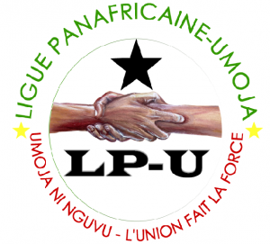 Communiqué de la Ligue Panafricaine-UMOJA, suite au crash aérien d'un Iliouchine 76, avion cargode la société locale Aéro-service, le 30 novembre 2012 à Brazzaville dans Communiqué Logo_L_P_UMOJA-300x271