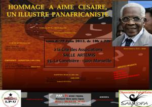 Flyer Centenaire Césaire